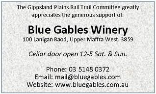 Sponsor Acknowledgement Blue Gables 60