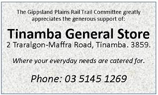 Sponsor Acknowledgement Tinamba General Store 60