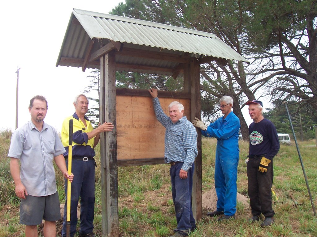4. Shelters up working bee Sat 21.2.15