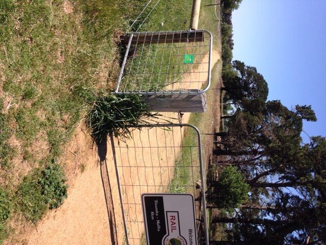 New Gate at Tinamba